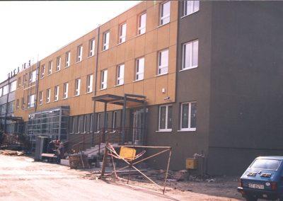 Budynek Starostwa - prace remontowe
