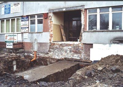 Remont budynku starostwa