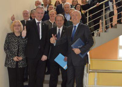 Spotkanie Przedstawicieli obu powiatów i gmin