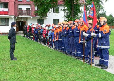 Węgierska Górka, 6 VII 07, Międzynar.Obóz Szkol. MDP (52)